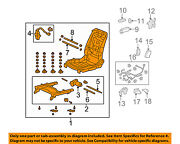 Honda Oem 2010 Accord Crosstour Seat Track-seat Frame Right 81126tp7a51