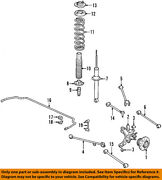 Acura Honda Oem 01-03 Cl Stabilizer Sway Bar-rear 52300s3ma01