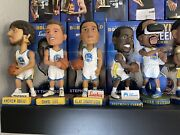 Golden State Warriors Bobblehead Set Sga Curry Klay Oracle