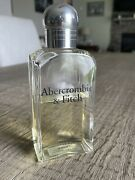 Rare Vintage 7oz Bottle Of Abercrombie And Fitch Menandrsquos Signature Cologne Used