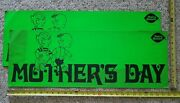 Dairy Queen Vintage 1972 Dennis The Menace Mother's Day Advertising Sign