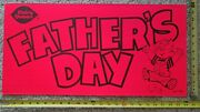 Dairy Queen Vintage 1975 Dennis The Menace Father's Day Advertising Sign
