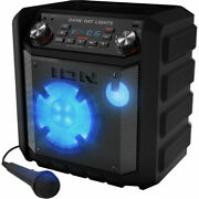 Ion Game Day Lights Wireless Bluetooth Rechargeable Speaker With Lights