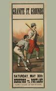 9557.decoration Poster.room Wall Art.home Decor.victorian Baseball Player.game