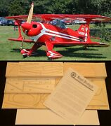 51 Ws Pitts S-1 Special R/c Plane Partial Kit/short Kit And Plans, Pls Read