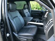 2019-21 Ram 1500 Big Horn Lone Star Crew Cab Black Leather Seat Covers Upgrade