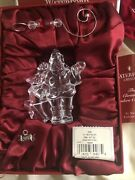 Waterford Crystal Xmas Wonders Collection 1st Edition St. Nicholas Ornament