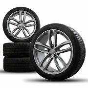 Audi 20 Inch Rims A6 S6 4g C7 S Line Allroad Tires Summer Wheels Competition
