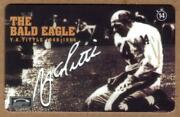14m Y.a. Tittle Photo Of And039the Bald Eagleand039 Interactive Phone Card
