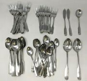 Vtg Lot Of 85 Towle Supreme Cutlery Liberty Bell Stainless Flatware Japan Ss21