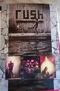 Rush Vintage Promo Poster Roll The Bones Collectable 1990and039s Original Superb