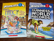 Scholastic I Can Read Level 1 And 2- Fancy Nancy/guinness World Recordspaperback