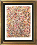"""Jackson Pollock """"untitled"""" Signed And Hand-numbered Ltd Ed Print Unframed"""