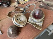 Cushman Truckster Haulster Bullet Rear Turn Signal 1960`s And 1970`s Glass Lens 2