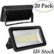 20x 500w Led Flood Lights Warm White Bright Waterproof Outdoor Lighting Fixtures