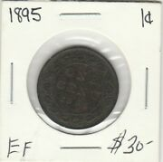 Canada 1895 Large Cent