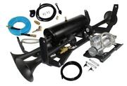Fits Gmc-chevy Complete Bolt-on Train Horn And Oba System - 730/6450rc