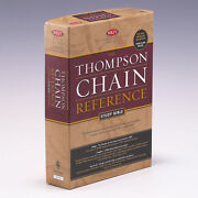 The Thompson Chain Reference Study Bible New King By Frank Charles Thompson