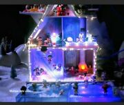 Lol Surprise Doll House Winter Disco Chalet Wood Exclusive Family 95+ 🎁 Omg 💕