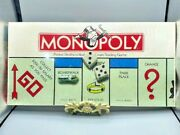 New Sealed Vintage 1985 Monopoly Board Game Parker Brothers Complete No. 0009