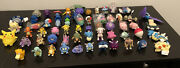 2000 Burger King Pokemon Toys - Complete Set Lot Of 57 Toys No Dups Only 1 Pika