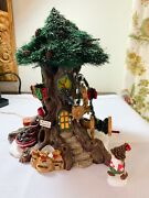 Dept 56 North Pole Woods Trim A Tree Factory Retired 2001 56884 Mint In Box