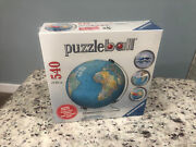 Ravensburger 3d Puzzleball Ancient Time Globe 540 Puzzle With Stand