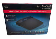 Linksys Ea3500 Dual-band N750 Router With Gigabit And Usb - Free Shipping
