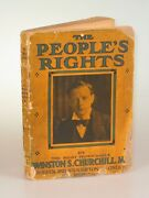 Winston S. Churchill - The Peopleand039s Rights First British Edition Second State