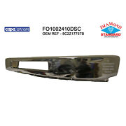 Fo1002410dsc New Replacement Front Bumper Bar Fits 2015-19 Ford Van E350 Sd