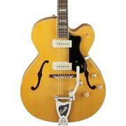 X-175b Manhattan Hollowbody Archtop Electric Guitar With Guild Vibrato Tailpiece