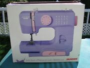 Janome Lady Lilac Sewing Machine W/ Built In-stitches- New In Box