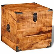 Old Distressed Rough Mango Wood Blanket Storage Chests Boxes Trunks Home Decor