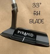 Pyramid Putters Blade Az-1 33andrdquo Blair Oandrsquoneal Putter Golf Milled Groove Grip Rh ⛳️