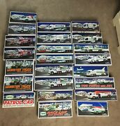 Lot Of 23 Hess Trucks 90andrsquos-2000andrsquos Andnbspwill Sell Separate