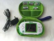 Leapfrog Leapster Explorer Console Learning System + 5 Games Tested And Working