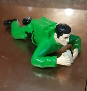 Action Man Soldier Wind-up Crawling Toy 6 Figure Hasbro 1990's Fantastic Gi