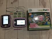Leapfrog Leappad 3 And Leappad 2 Explorer And 7 Games Pixar Pals Cars2 Tangled More