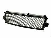 For 2000-2002 Silverado / 2000-2006 Tahoe Front Grill Upper Mesh Black Grille