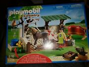 Playmobil 5225 Country Horse And Pony Care Station Farm New In Box
