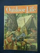 Vintage Men's Adventure Magazine Outdoor Life May 1949 Hunting Camp Lunch Break