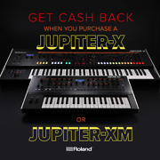 New Roland Jupiter-x Synthesizer- Legendary Sound And Build 61 Keys Incredible