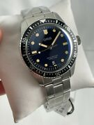 New Oris Divers Sixty-five 01 733 7707 4055-07 8 20 18 Blue Watch W Box + Papers