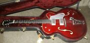 Gretsch 6119sc Hollow Body Electric With Factory Case And Paper Work.