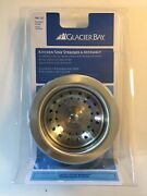 Glacier Bay Kitchen Sink Strainer And Assembly 195 127 Brushes Nickel New And Sealed