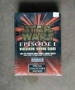 Topps Star Wars Episode 1 Widevision Trading Card Collector's Factory Sealed Box