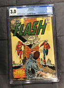 The Flash 123 - 1st Golden Age Flash In The Silver Age - Cgc 3.0 - 1961