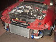 New Turbo Supercharger Intercooler Kit For Ford Mustang