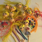 Betty Spaghetti Lot Heads And Assorted Accessories 40+ Pieces Used