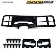 Car Radio Stereo Double Din Dash Kit For 99 00 01 02 Gm Trucks And Suvand039s Usa New